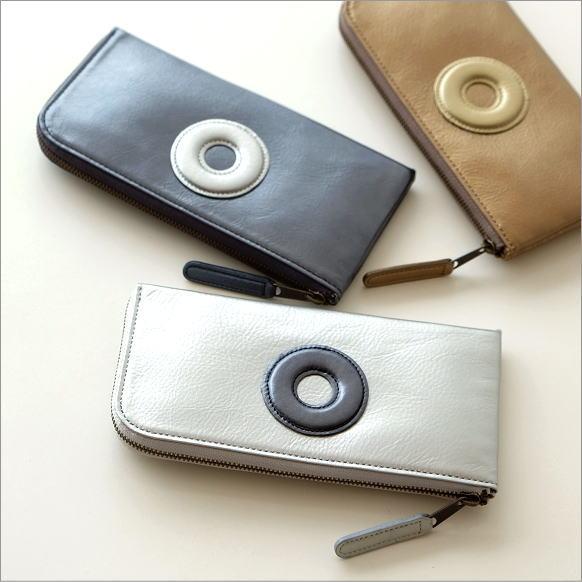 ファスナースリム財布 3カラー 【送料無料】 [bam1400]