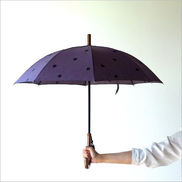 日傘 日本製 UVカット コットン100% 傘 かさ カサ 和風 和柄 モダン 大人 おしゃれ コットンパラソル 小水玉C 【送料無料】 [bam3726]