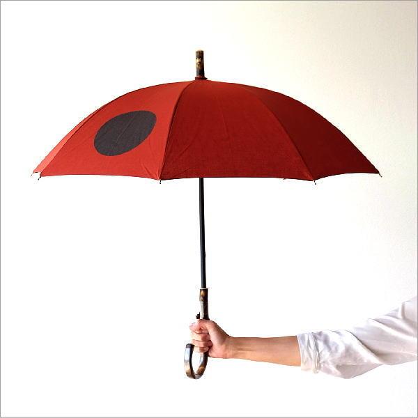 日傘 日本製 UVカット コットン100% 傘 かさ カサ 和風 和柄 モダン 大人 おしゃれ コットンパラソル 大玉B 【送料無料】 [bam5992]