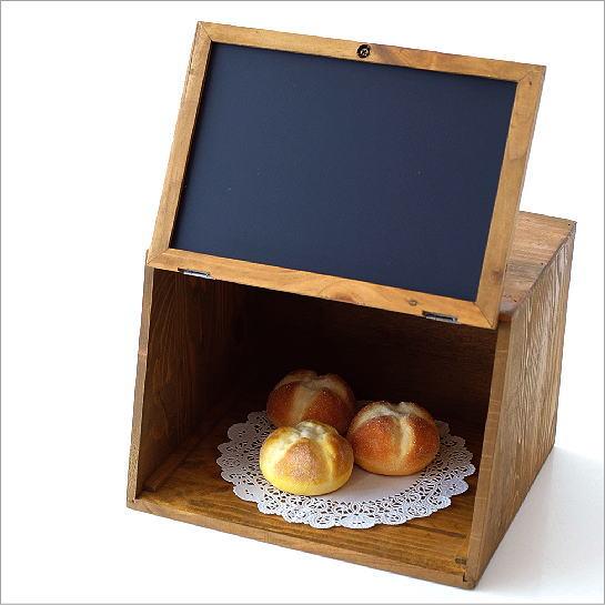 ブレッドケース 木製 パンケース パン入れ 食パン ストッカー 収納 保存ケース 調味料入れ ナチュラル 北欧 シンプル おしゃれ ブレッドケース カフェデザイン