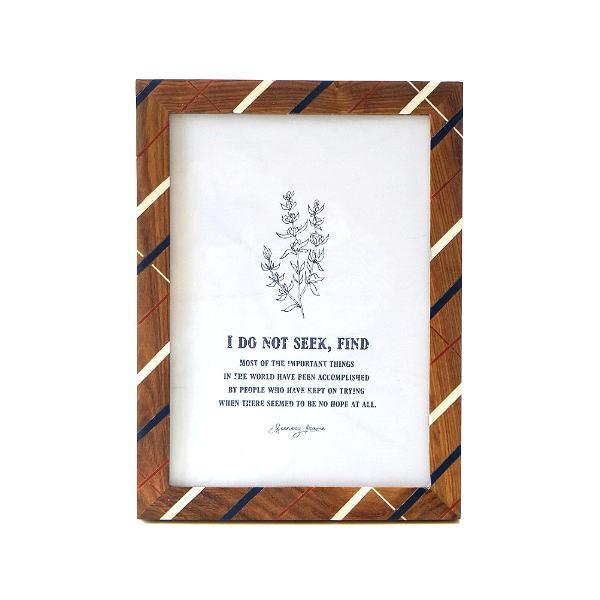 ピクチャーフレーム 木製 フォトフレーム 写真立て おしゃれ 卓上 壁掛け 縦置き 横置き 壁飾り ビッグなウッド&レジンフレーム [cle8429]