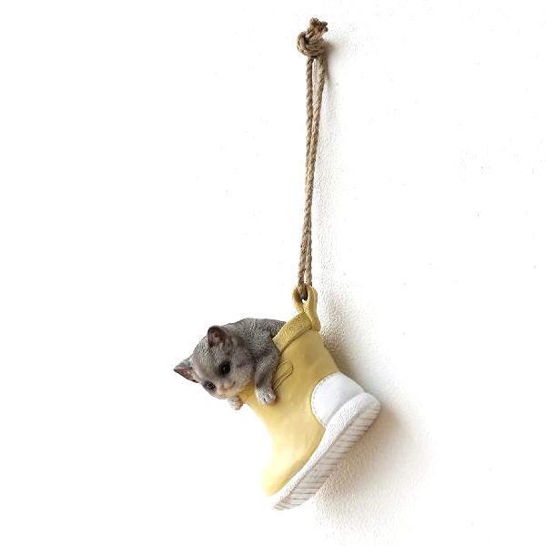 壁飾り ウォールデコ ウォールアート 壁掛け おしゃれ かわいい 猫 ネコ 子猫のオブジェ インテリア イエローブーツキティーの壁掛けオブジェ [cov2012]
