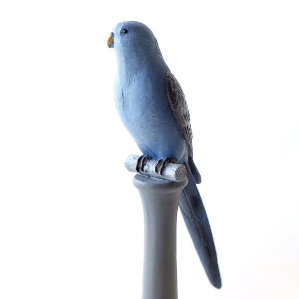 鳥 置物 オブジェ 雑貨 かわいい 可愛い おしゃれ インテリア ブルーバードの置物 [cov6576]