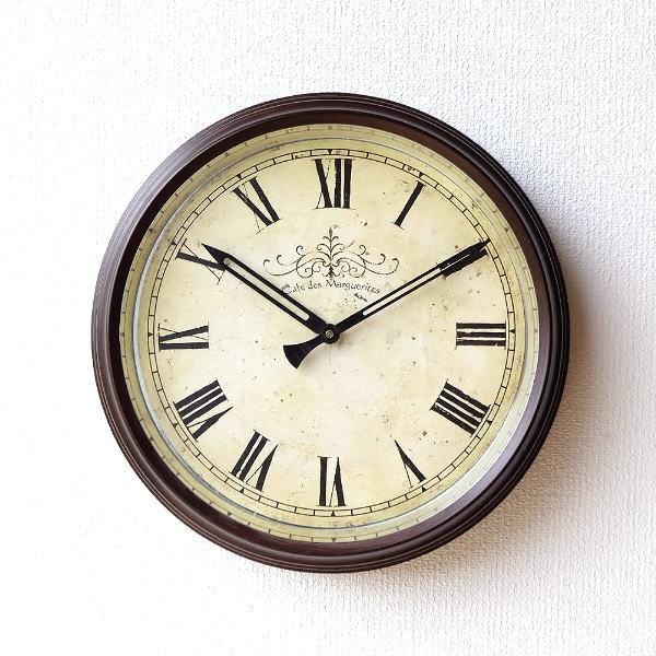クラシックなスチールの掛け時計 [cov9453]