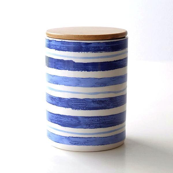 キャニスター 陶器 保存容器 おしゃれ ストッカー 小物入れ ふた付き フタ付 陶器のキャニスター C [dcr0973]
