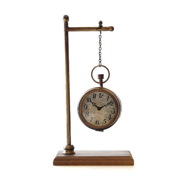 レトロな懐中時計型スタンド [dcr4828]