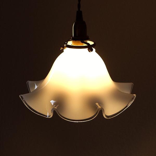 ペンダントライト ガラス アンティーク レトロ カフェ風 LED対応 おしゃれ ダイニング キッチン トイレ 玄関 寝室 ガラスのペンダントライト 1017 [diz0607]