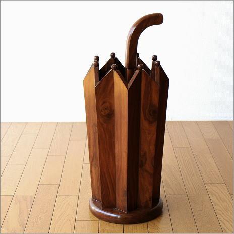 傘立て 木製 おしゃれ デザイン 玄関 インテリア シーシャムウッドの傘たてA【送料無料】