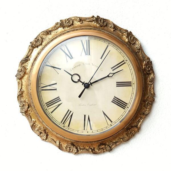 掛け時計 アンティーク おしゃれ ウォールクロック レトロ クラシックな掛け時計B [ebn4440]