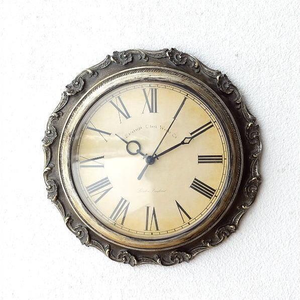掛け時計 おしゃれ アンティーク レトロ ヨーロピアン ウォールクロック エレガント ローマ数字 クラシックな掛け時計A [ebn5449]