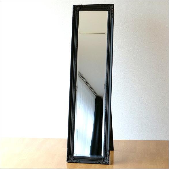 スタンドミラー アンティーク 全身 鏡 姿見 エレガント ヨーロピアン おしゃれ アンティークなスタンドミラーBR【送料無料】