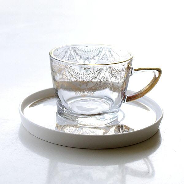 ガラスカップのC&S ゴールドレース [hal0459]