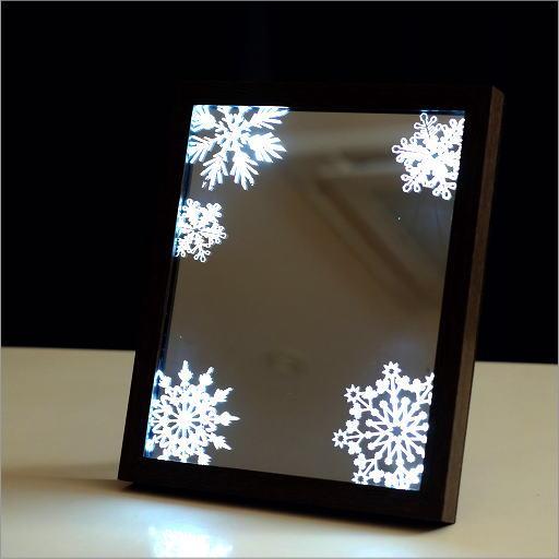 LEDサイン スノーフレイク L