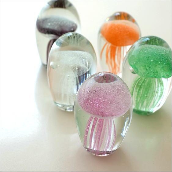 ガラスのジェリーフィッシュ 5カラー