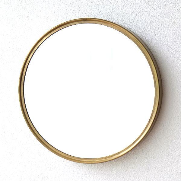 鏡 壁掛けミラー おしゃれ ウォールミラー シンプル ヴィンテージ風 アンティーク スタイリッシュ 丸い 丸型 円形 サークル レトロなアイアンラウンドミラー [hda6785]