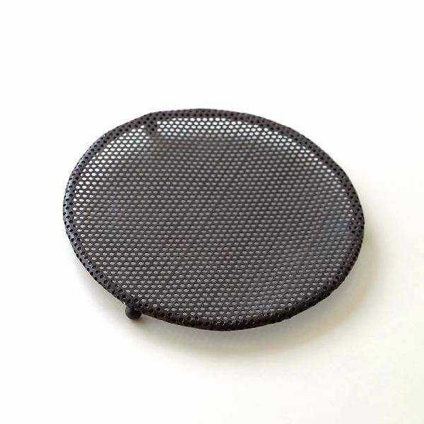 鍋しき 鍋敷き おしゃれ 鉄 シンプル デザイン ポットスタンド アイアンポットコースター ラウンド [hda9334]