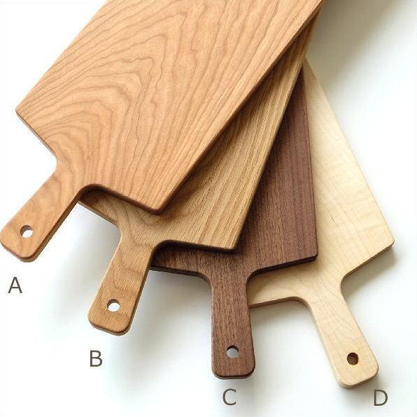 カッティングボード 木製 まな板 日本製 長い 50cm ロング おしゃれ 天然木 木目 ハードメープル ナラ チェリー ウォルナット ロングカッティングボード4タイプ [hkp8937]