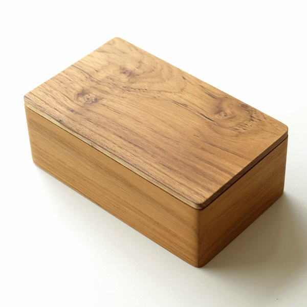 バターケース 木製 チーク材 おしゃれ 200g チーク バターケース [ify0951]