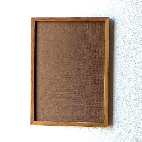 フォトフレーム 木製 チーク材 おしゃれ A3 壁掛け シンプル ナチュラル 木枠 縦向き 横向き チークウッドフレーム A3 [ify8252]