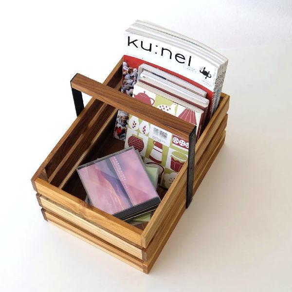 ツールボックス 木製 チーク アイアン 持ち手付き 収納ボックス 小物 アイアンとウッドのツールボックス 01 [ify8651]