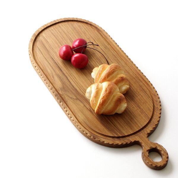 カッティングボード チーク材 木製 まな板 おしゃれ  チークカッティングボード オーバル [ify8849]