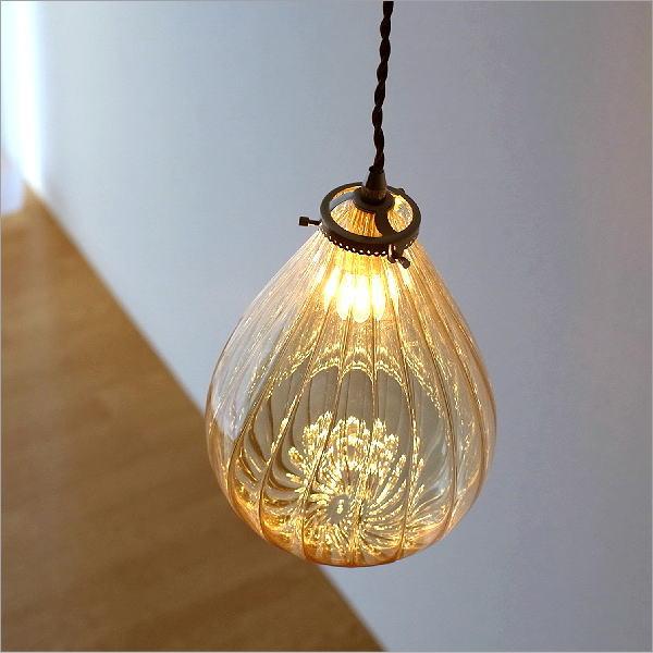 エジプシャンガラスランプ フィグB【送料無料】 [igc6933]