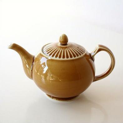 ティーポット 急須 茶こし付き 陶器 有田焼 日本製 焼き物 おしゃれ 紅茶 北欧 洋風 和食器 かわいい デザイン キャメルティーポット [imt8955]