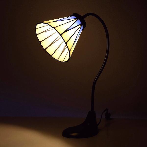 ステンドグラス ランプ 照明 ランプスタンド テーブルランプ アンティーク おしゃれ クラシック ベッドサイドランプ ステンドグラステーブルランプ リタ 【送料無料】 [itn8547]