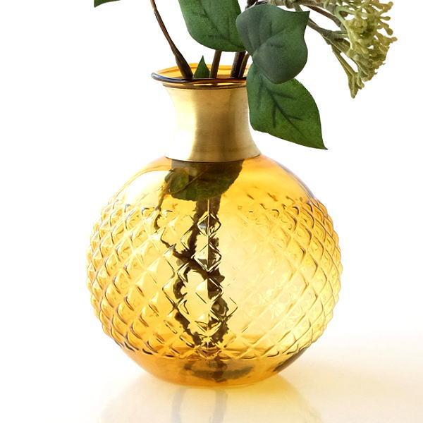 花瓶 おしゃれ ガラス 一輪挿し フラワーベース かわいい ガラスのシンプルベースC [kan0884]