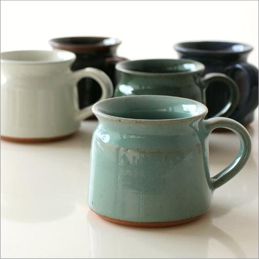 陶器のマグカップ 5カラー [kan4237]