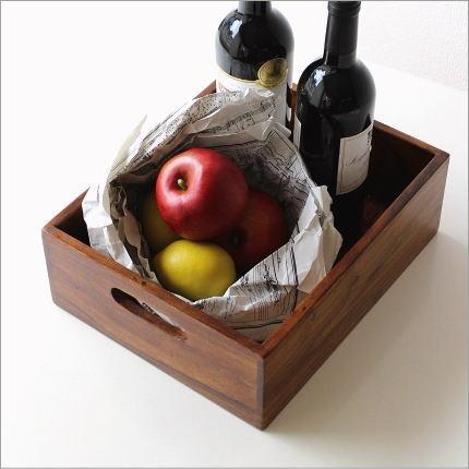 小物入れ 木製 シンプル 天然木 持ち手つき 引き出し 収納ボックス シーシャム整理ボックス