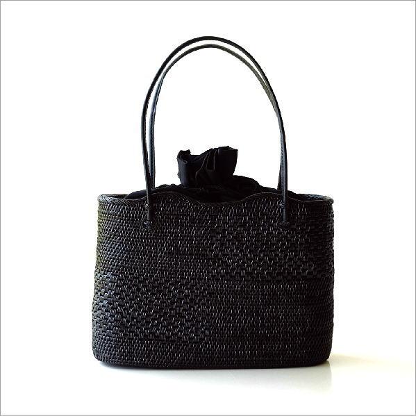 アタ飾り編みオーバルバッグ 【送料無料】