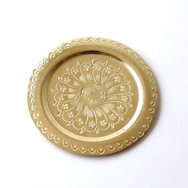モロッコの真鍮トレー [kan8244]