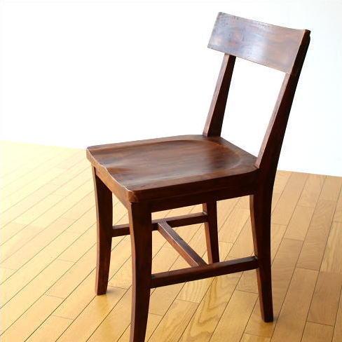 ウッドチェア ダイニングチェア 木製 椅子 いす イス 無垢 天然木 デスクチェア おしゃれ シーシャムウッドチェアーB 【送料無料】 [kan8295]