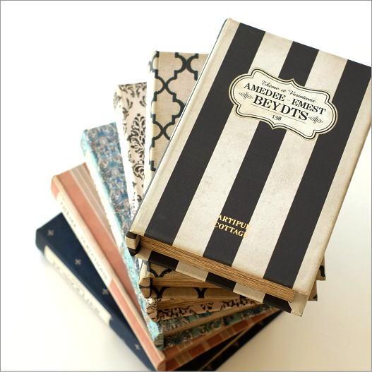 本型小物入れ ブック型収納ボックス 宝箱 洋書 シークレットボックス アンティーク調 レトロ レトロブックボックス 6タイプ