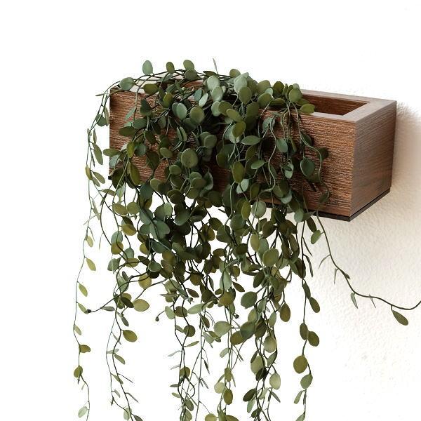 フェイクグリーン CT触媒 消臭 壁掛け 観葉植物 木製 インテリア 壁飾り 玄関 人工観葉植物 トイレ 洗面所 キッチン おしゃれ 壁掛け消臭フェイクグリーン [kkm9965]