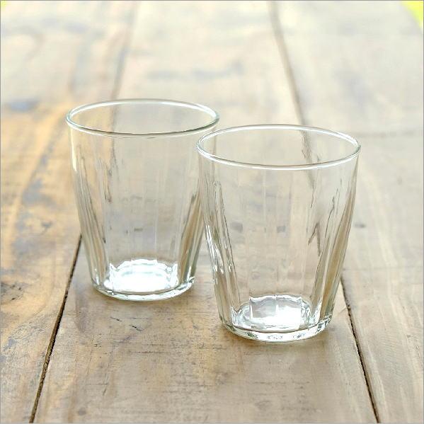 ガラスコップ セット おしゃれ リューズガラス カップ グラス タンブラー ワイズラインタンブラールントS 2個セット [ksh4706]