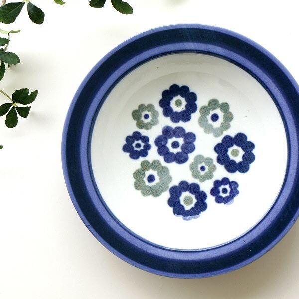 お皿 スープ皿 おしゃれ 陶器 食器 カレー皿 盛り鉢 日本製 アンティーク パスタ 洋風 瀬戸焼 スープ皿 フラワーべッド [ksn5055]