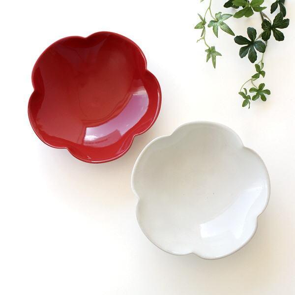 和食器 中鉢 小鉢 お花 器 陶器 おしゃれ かわいい ボウル 食器 お皿 盛り鉢 盛り皿 日本製 プレート 美濃焼 焼き物 輪花中鉢 2カラー [kyt1768]