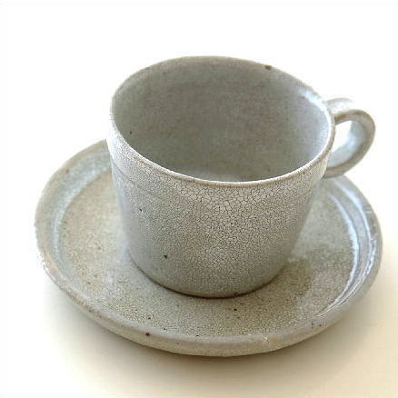 カップ&ソーサー おしゃれ 陶器 和食器 ティーカップ ソーサー コーヒーカップ&ソーサー 日本製 美濃焼 シンプル 和風 和 モダン カイラギ カップ&ソーサー