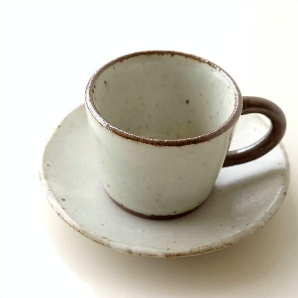 カップ&ソーサー おしゃれ 陶器 和食器 ティーカップ ソーサー コーヒーカップ&ソーサー 日本製 美濃焼 シンプル 和風 和 ガレット カップ&ソーサー [kyt2517]