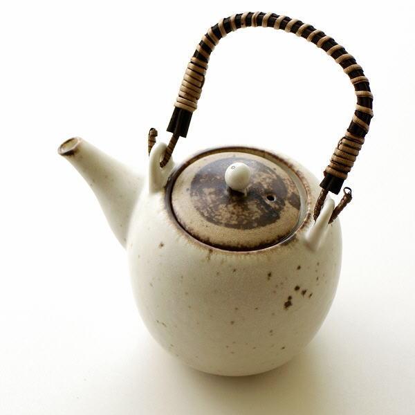 土瓶 急須 おしゃれ 陶器 和風 美濃焼 焼き物 日本製 キナリ土瓶 [kyt8493]