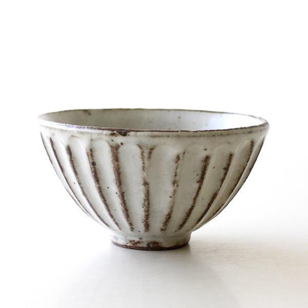 茶碗 食器 器 おしゃれ 陶器 飯碗 ご飯茶碗 美濃焼 和食器 和風 和モダン 焼き物 日本製 ガレットしのぎ飯碗 [kyt9714]