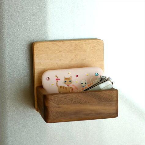 マグネット 小物入れ ボックス トレイ 壁掛け 壁付け 磁石 木製 おしゃれ マグネット・ボックス