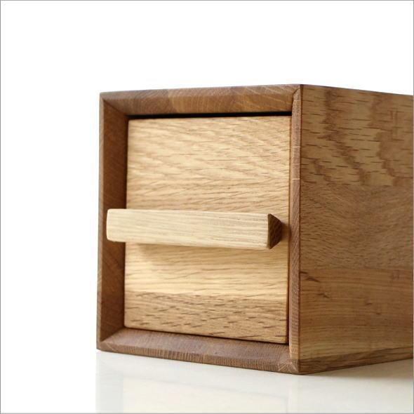 小物入れ 引き出し 卓上 ケース おしゃれ 木製 無垢材 ナチュラルウッドのミニボックス A