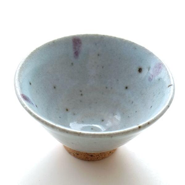 辰砂流し 姫茶碗 [mkn7653]