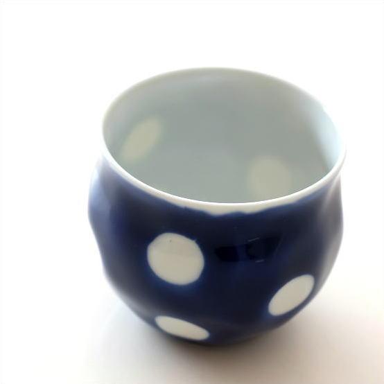 湯のみ茶碗 小鉢 水玉 小さい 鉢 湯呑み 湯飲み かわいい おしゃれ 釉水玉コロコロ碗 [msg1774]