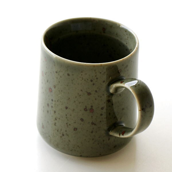 マグカップ 陶器 おしゃれ 有田焼 日本製 焼き物 シンプル 和モダン 天龍青磁マグ [msg2513]