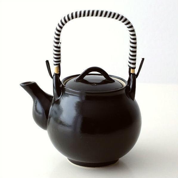 土瓶 急須 おしゃれ 陶器 有田焼 黒陶土瓶 [msg6333]