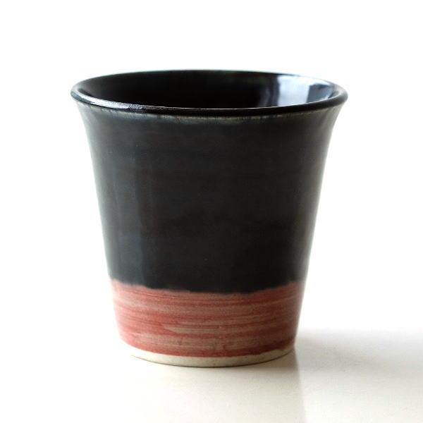 湯のみ茶碗 おしゃれ 有田焼 陶器 湯呑み 湯飲み 焼き物 日本製 安南呉須巻湯のみ [msg6699]